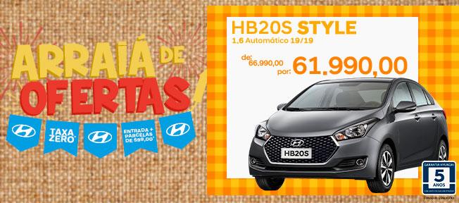 HB20s Style 1.6 Automático