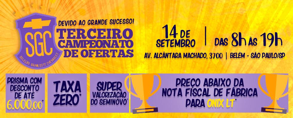 3º CAMPEONATO DE OFERTAS